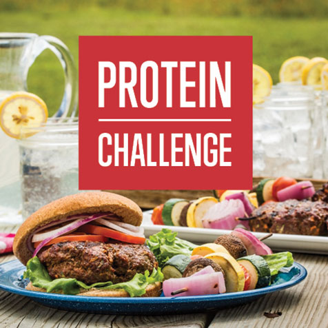 Protein Challenge - Feel the Difference