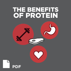 The benefits of Protein. PRF