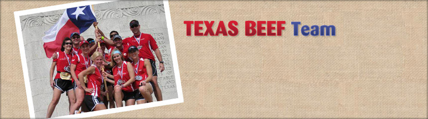 Texas BEEF Running Team